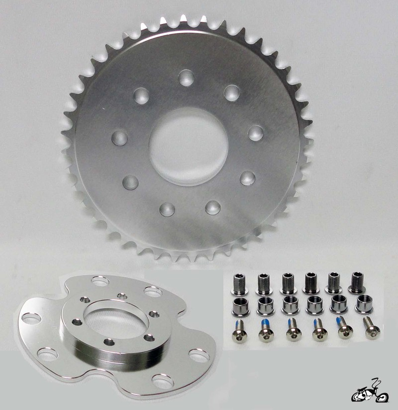 High Quality Cnc Disc Brake And Motorized Sprocket Adapter