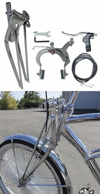 "26"" Straight Springer Fork Kit"