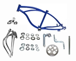 "20"" Lowrider Bike Frame Kit - ROYAL BLUE"