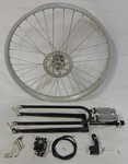 Cuda Fork Front Disc Brake Wheel Kit 24/36/Black