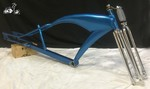 Z2 Stretch Cruiser Tank Frame and Cuda Fork - BLUE