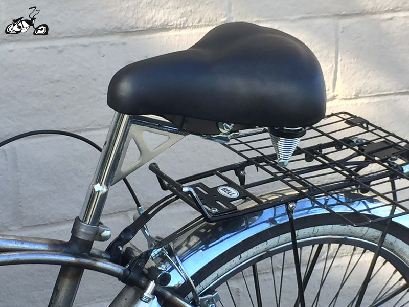 Cruiser Bicycle Extended Seat Post