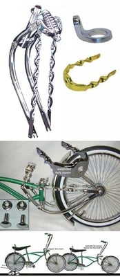 Lowrider Bike Extended Fork Kit 5