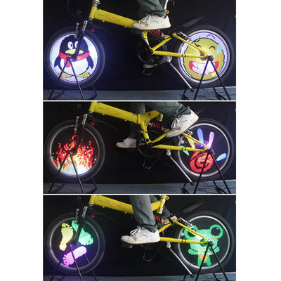 Color Changing Bicycle Wheel Light