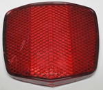 Used Bicycle Reflector Chevron Shape RED WIDE