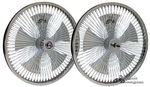 "20"" 140 Spoke Spinning Wheel Set"