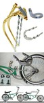 Lowrider Bike Extended Fork Kit 2