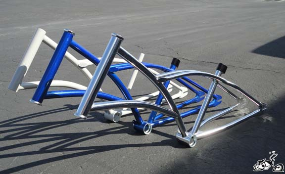 Diy Motorized Chopper Bicycle Frame