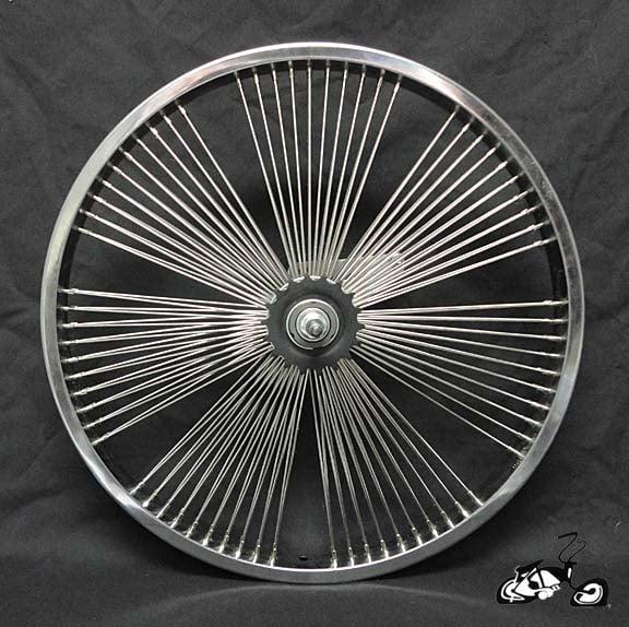 Lowrider Bike Fan Wheel 140 Spoke With 10 Spoke Per Cluster