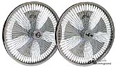 Spinning Bicycle Wheels