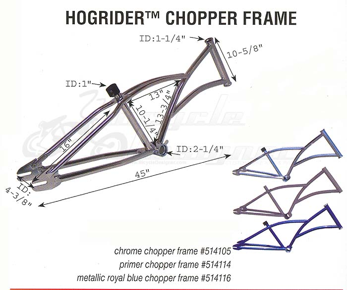HogRider Chopper Frame