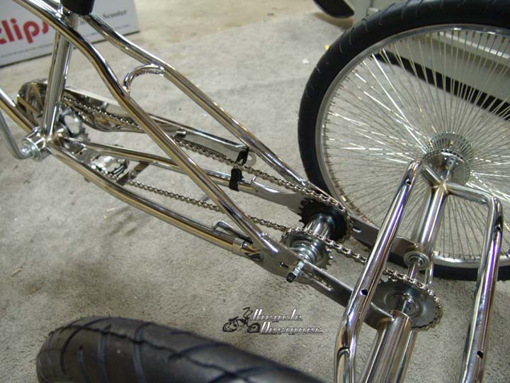 Trike Conversion Kit For Bicycles With 36 Spoke Heavy Duty