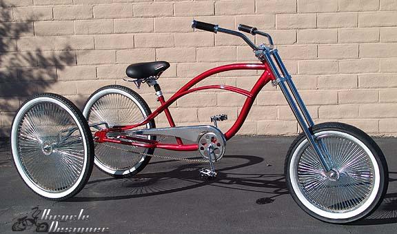 Tricycle Bike Parts : Hollow hub trike conversion kit