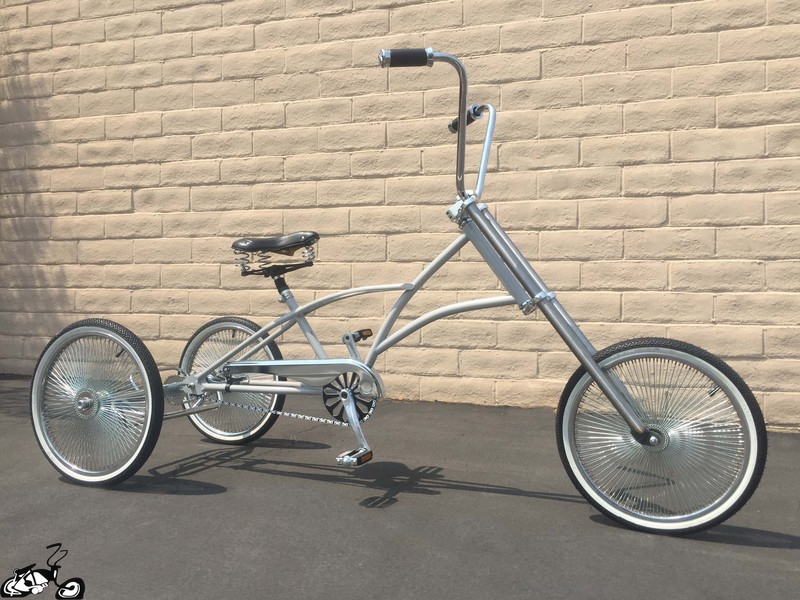 Chopper Trike With A Slow And Low Feel