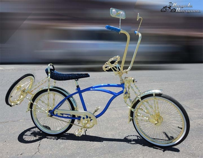 Lowrider Bike - Royal Gold Deluxe