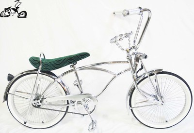 Classic Crown Lowrider - Chrome Green