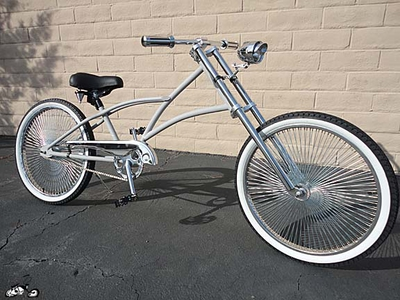 Simple Chopper Bicycle PRIMER