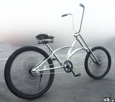 Blade Chopper Bicycle