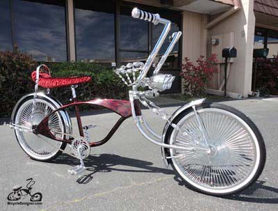 Lowrider Show Bicycle For Display