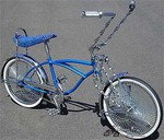 LovelyLowrider Caddy - Blue