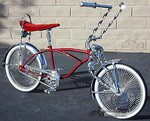 LovelyLowrider Caddy - Red