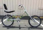 High Back Fat Tire Chopper GREEN