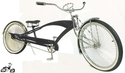 Adjustable Stretch Cruiser - BLACK