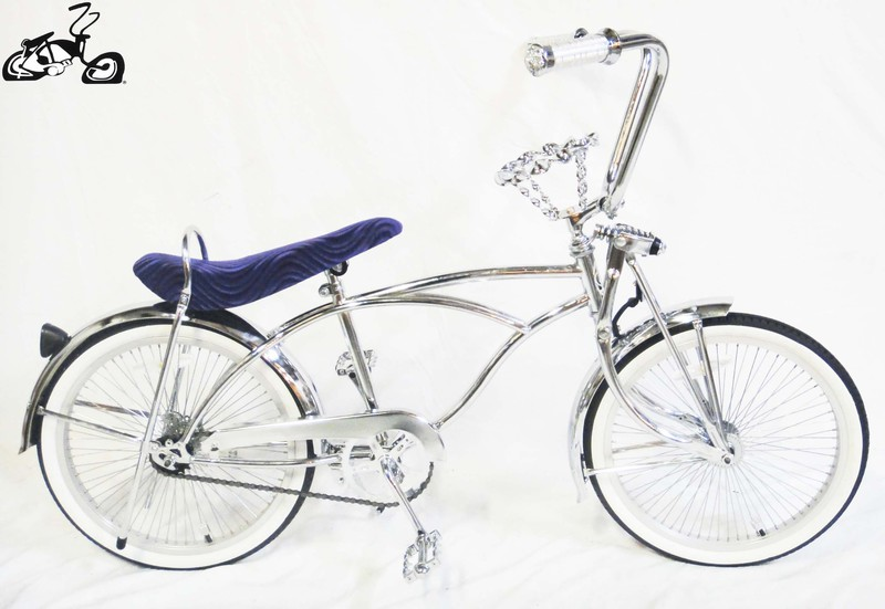 NEW ORIGINAL Lowrider Chrome Wing Style Crown Show Part Lowrider Cruiser
