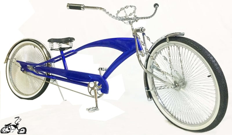 Stretch Cruiser Bicycle 26 Quot Blue With Adjustable Forks