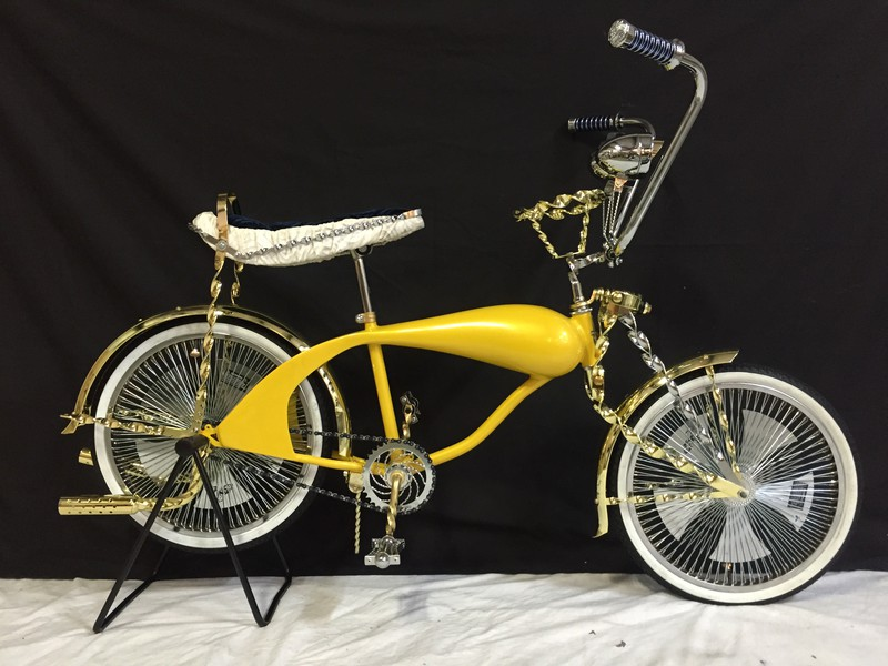 Lowrider Bicycle For Display