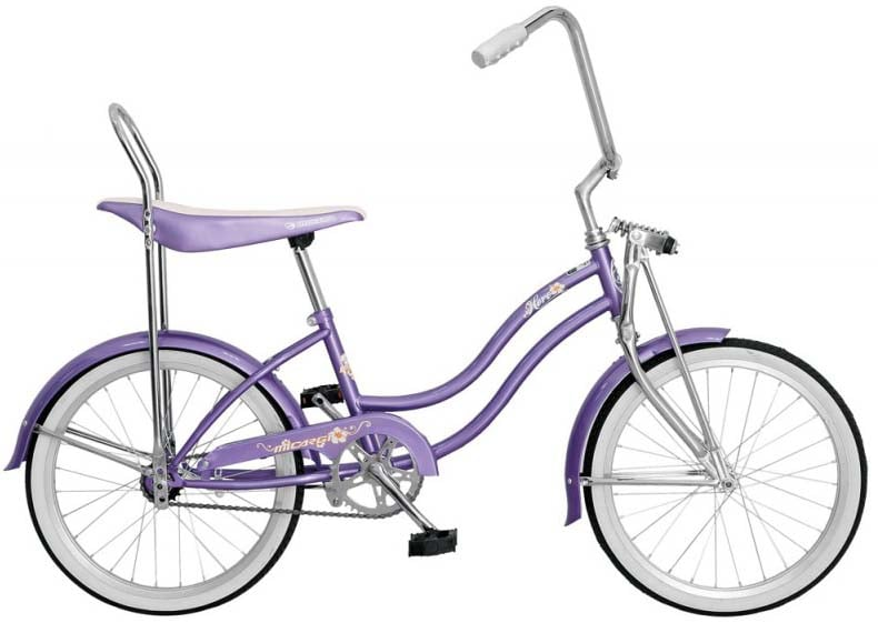 Micargi Hero Lowrider Bike For Girls Purple