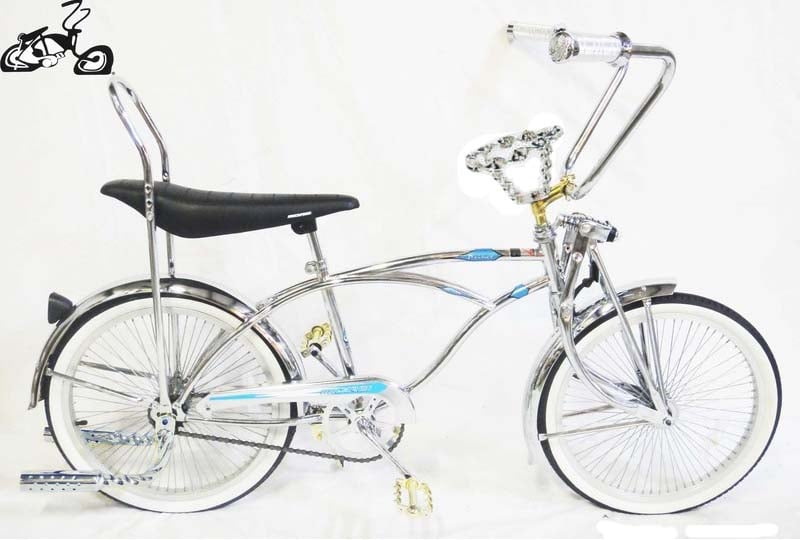 Chrome Lowrider Bike