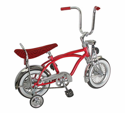 12 inch Red Lowrider Bike: Child Size