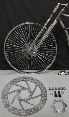 Front Wheel Disc Brake Kit