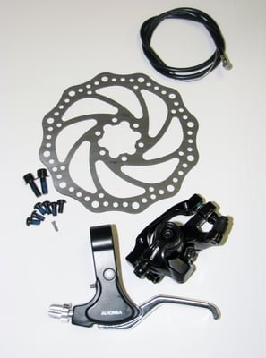 Front Disc Brake Set with 160mm Rotor