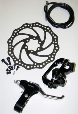 Rear Disc Brake Set with 160mm Rotor