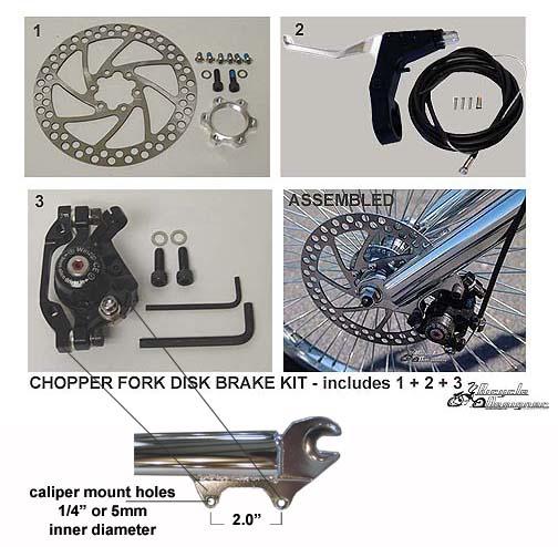 Chopper Brake Disc Kit