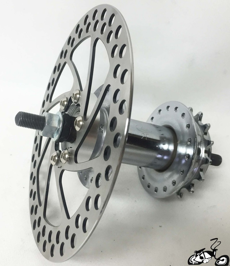 Convert Your Bicycles Rear Wheel To Disc Brake