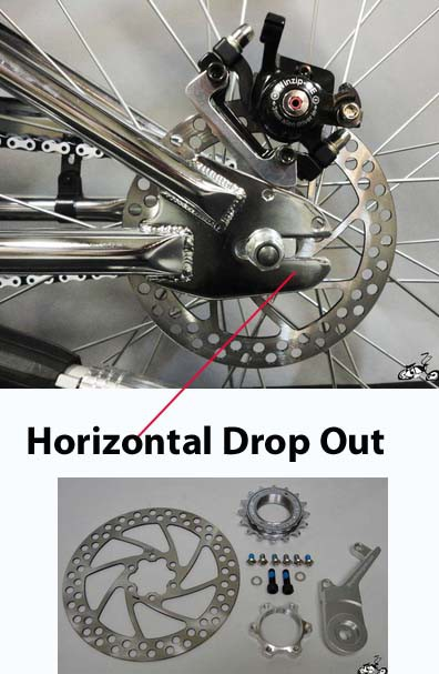 MOTORIZED BICYCLE Drum Brake Kit
