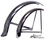 Krate Fender Set - CHROME