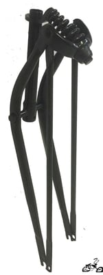 "26"" Straight Springer Fork - BLACK"