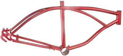 "Lowrider Bike Frame 20"" Red"