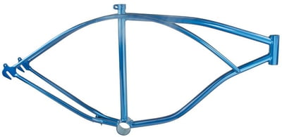 "26"" Cruiser Bicycle Frame Blue"