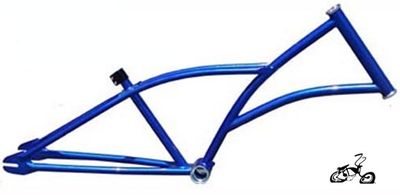HogRider Chopper Frame - ELECTRIC BLUE