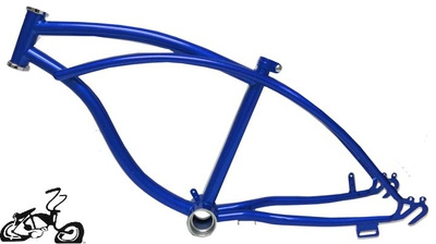 "Lowrider Bike Frame 20"" - ROYAL BLUE"
