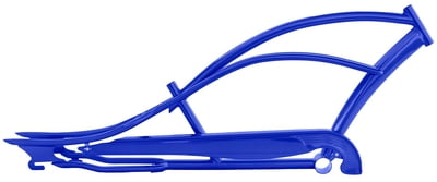 Mustang Stretch Cruiser Frame and Chain Guard BLUE