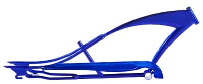 Stretch Cruiser Frame and Chain Guard BLUE
