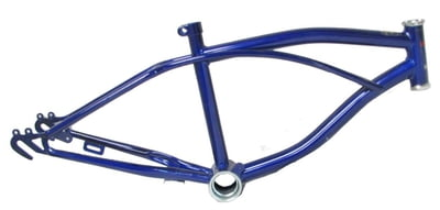 "Lowrider Bike Frame 20"" NAVY BLUE"