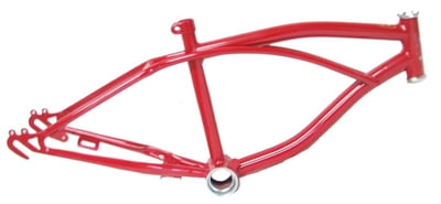 "Lowrider Bike Frame 20"" FIRE RED"