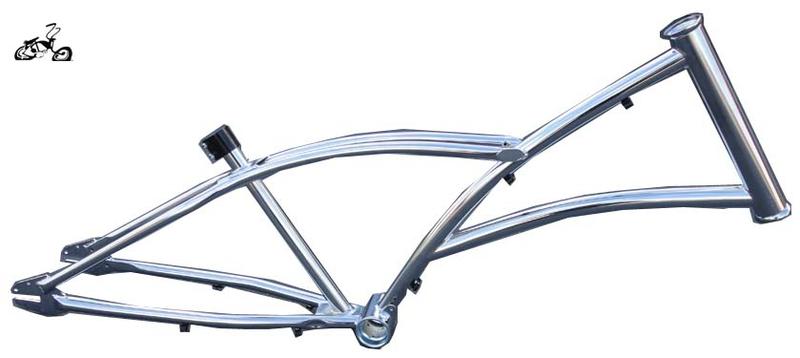 Hogrider Men\'s Chopper Bicycle Frame